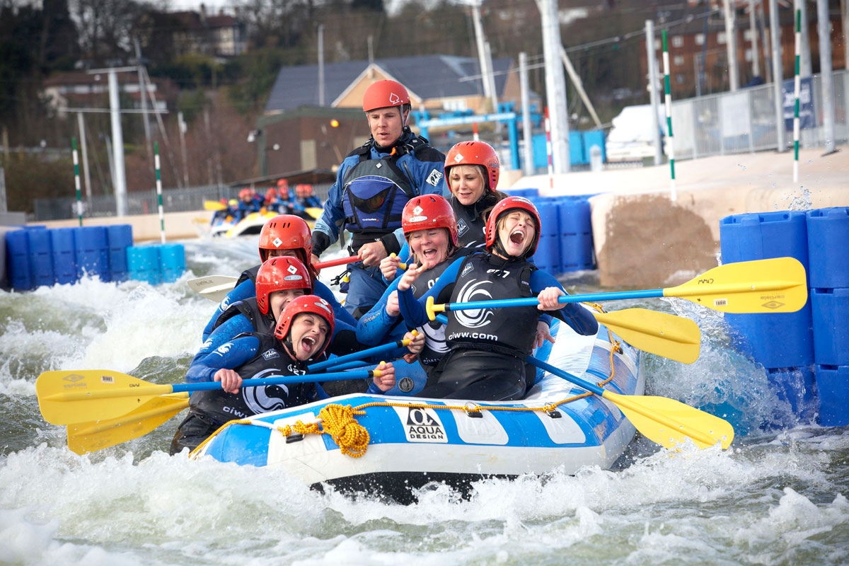 White water rafting at CIWW