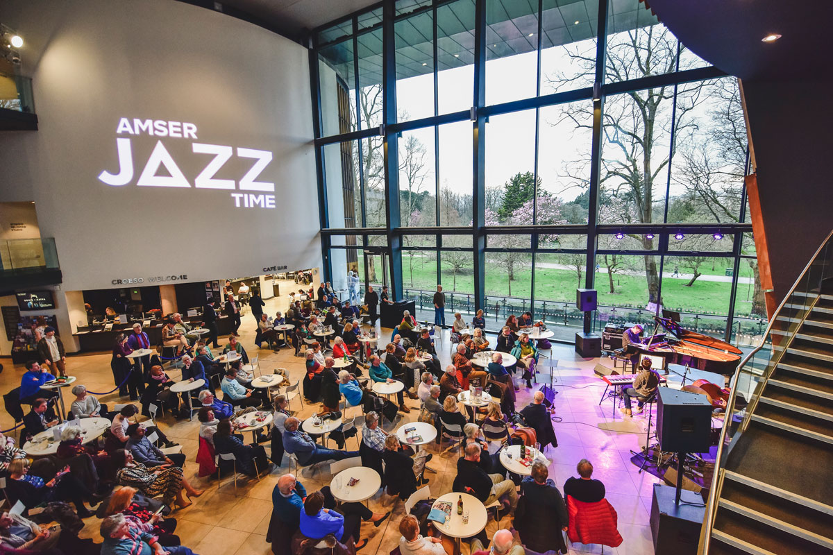AmserJazzTime in RWCMD foyer